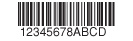 Plastic gift cards commonly use a Bar Code 128.